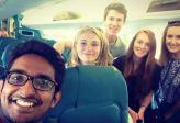 plane to Budapest