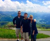 Family in Austria